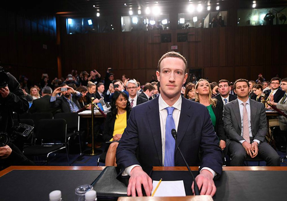 Zuckerberg es interrogado por el congreso de Estados Unidos